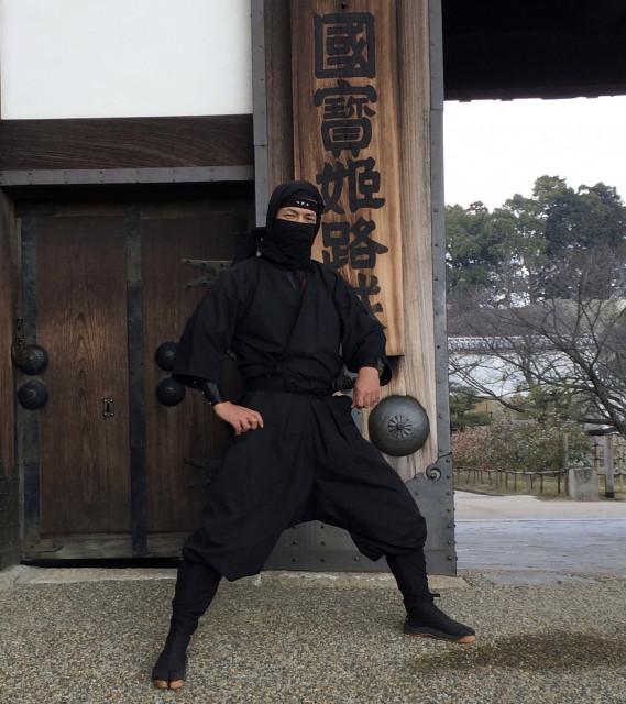 姫路城忍者イスケ